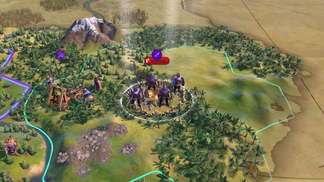 L'aggiornamento di Civilization 6 migliora i rapporti con i Barbari thumbnail
