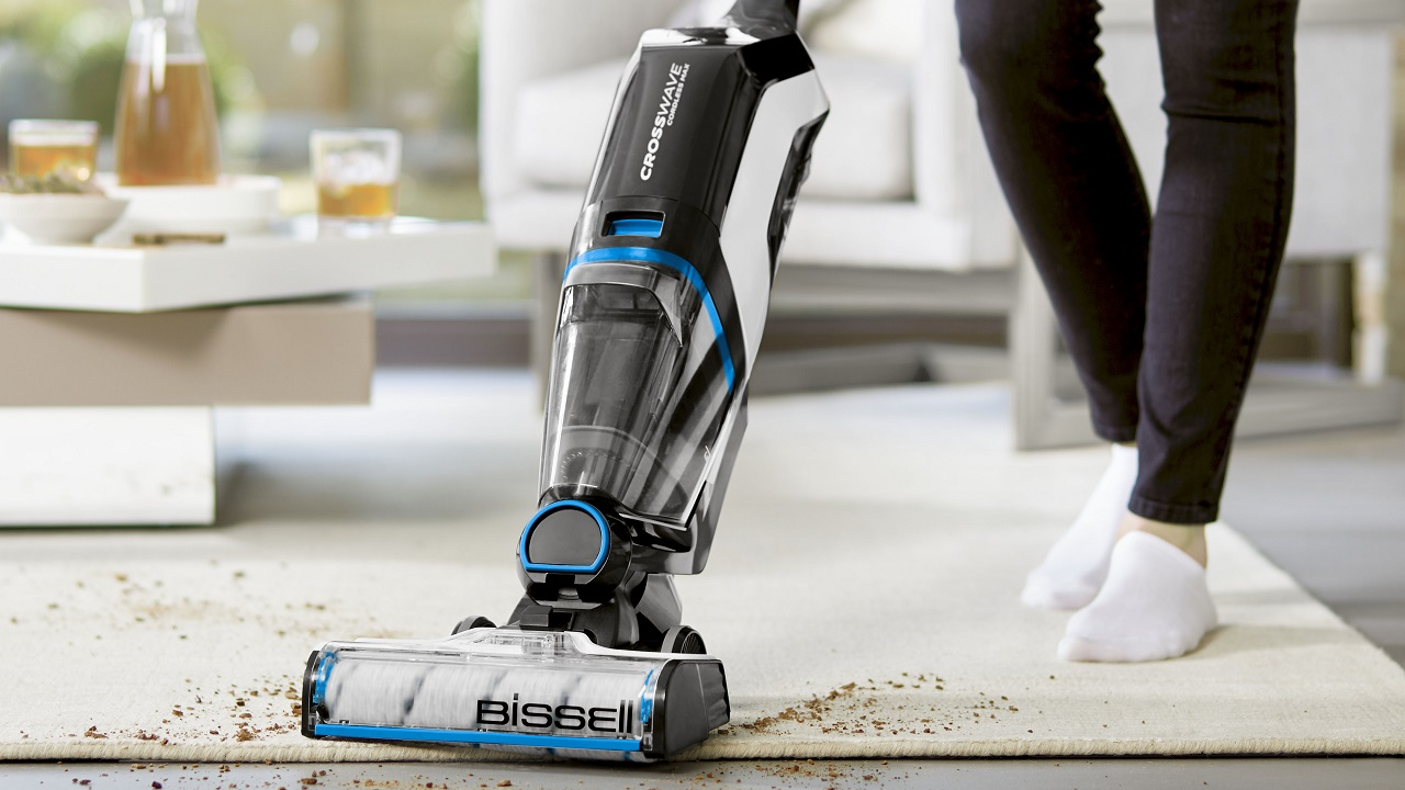 BISSELL presenta il nuovo CrossWave Cordless Max thumbnail
