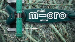 Micro lancia i primi monopattini sostenibili per bambini  L'azienda di Wim Ouboter realizza due modelli fatti con plastica oceanica riciclata