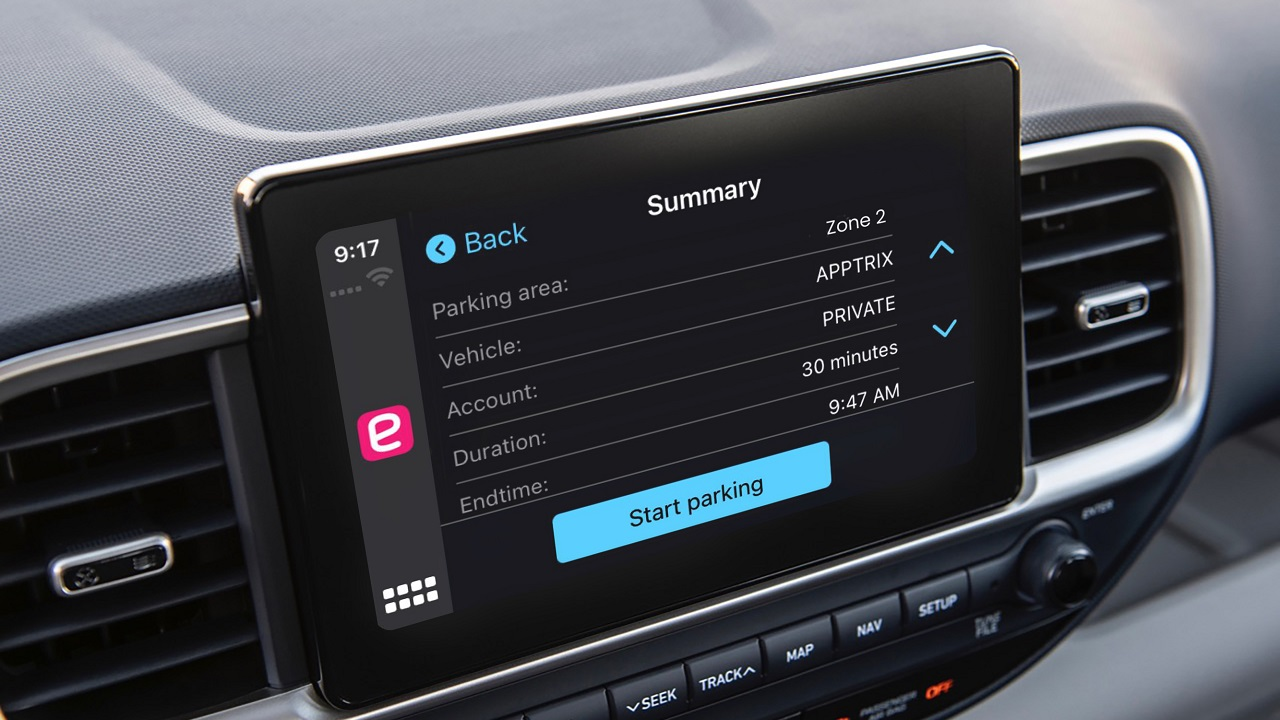 L'app di EasyPark arriva anche su CarPlay thumbnail