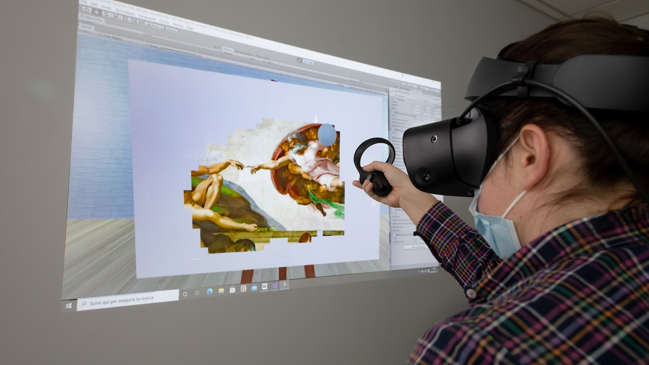 Effetto Michelangelo: arte e realtà virtuale al servizio della neuroriabilitazione thumbnail