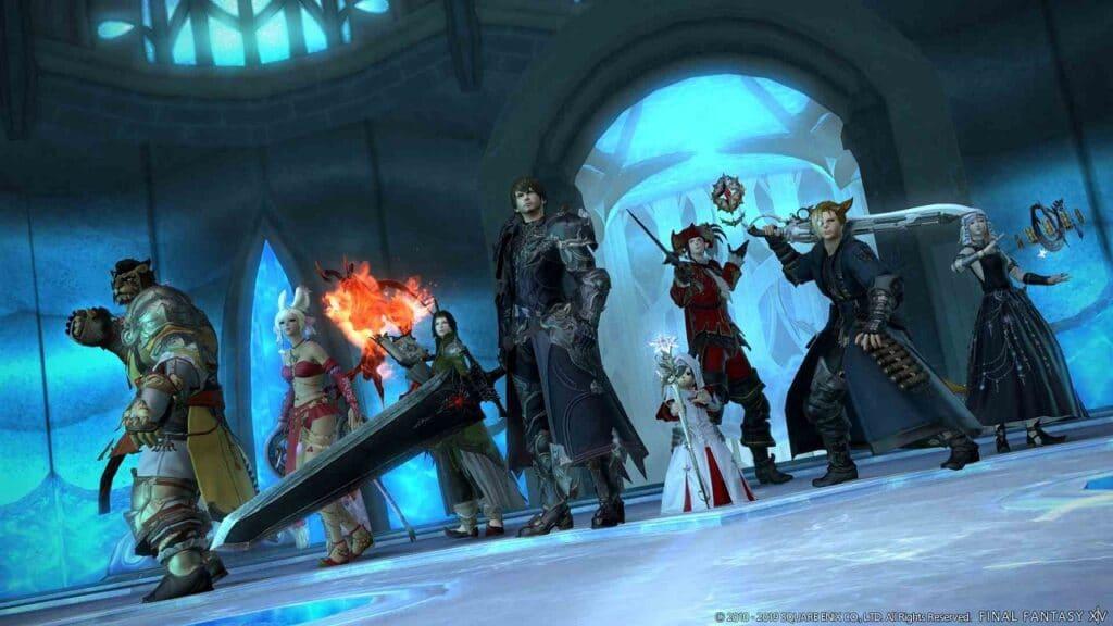 Final Fantasy XIV patch 5.55