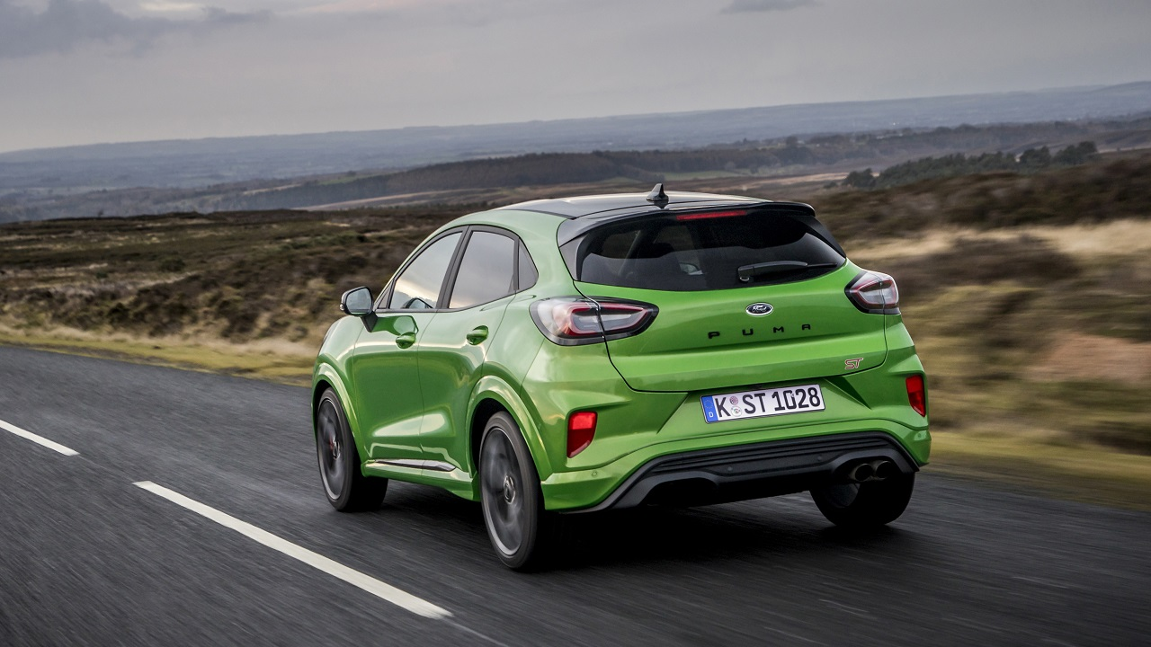 Ford Puma ST 2021 campagna inglese