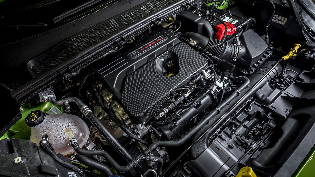 Ford Puma ST motore
