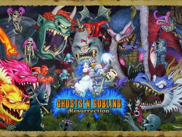 Ghosts 'n Goblins Resurrection nintnedo siwtch