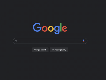 Google Dark Mode Desktop