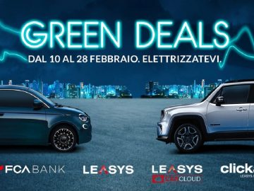Green deals fca bank leasys