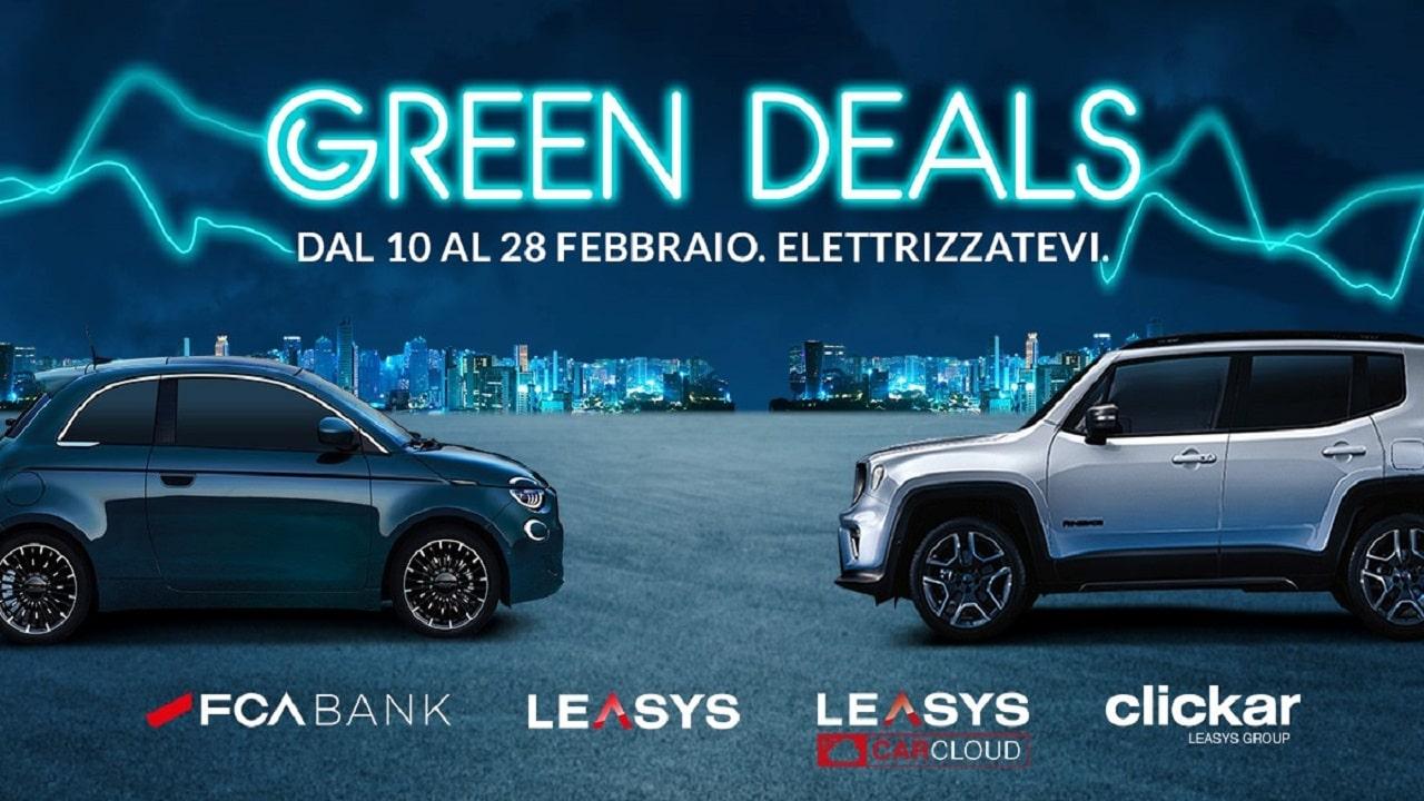 Ecco i Green Deals: 4 promozioni di FCA Bank e Leasys che pensano all'ambiente thumbnail