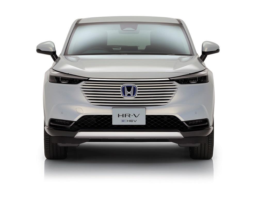 Il frontale di Honda HR-V 2021