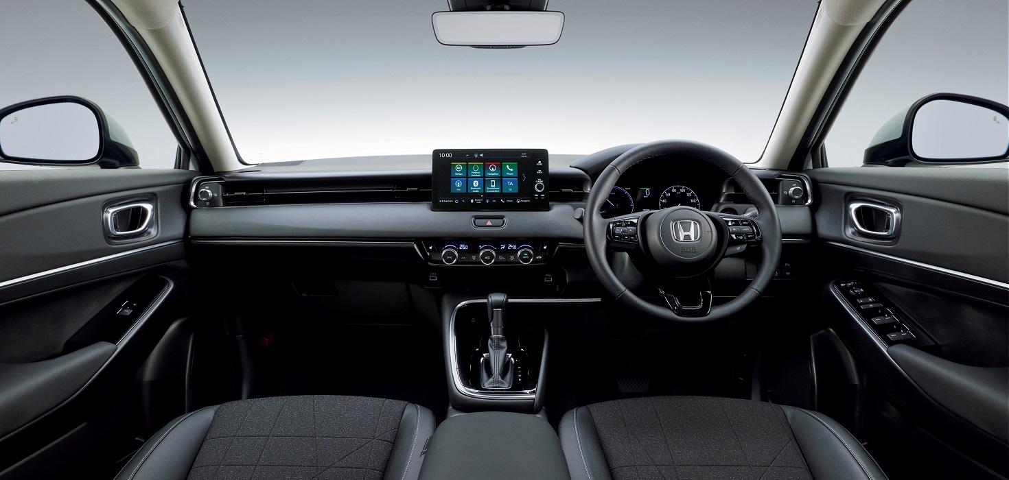 Gli interni di Honda HR-V 2021