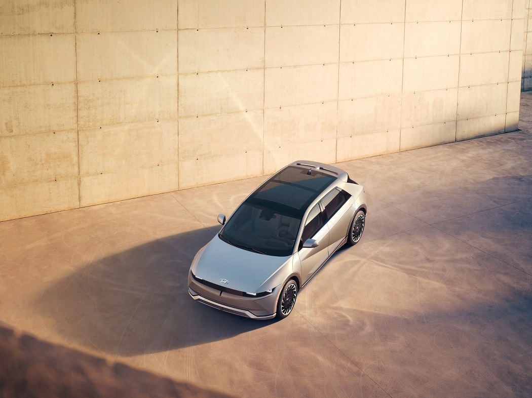 Hyundai Ioniq 5 2021 dall'alto