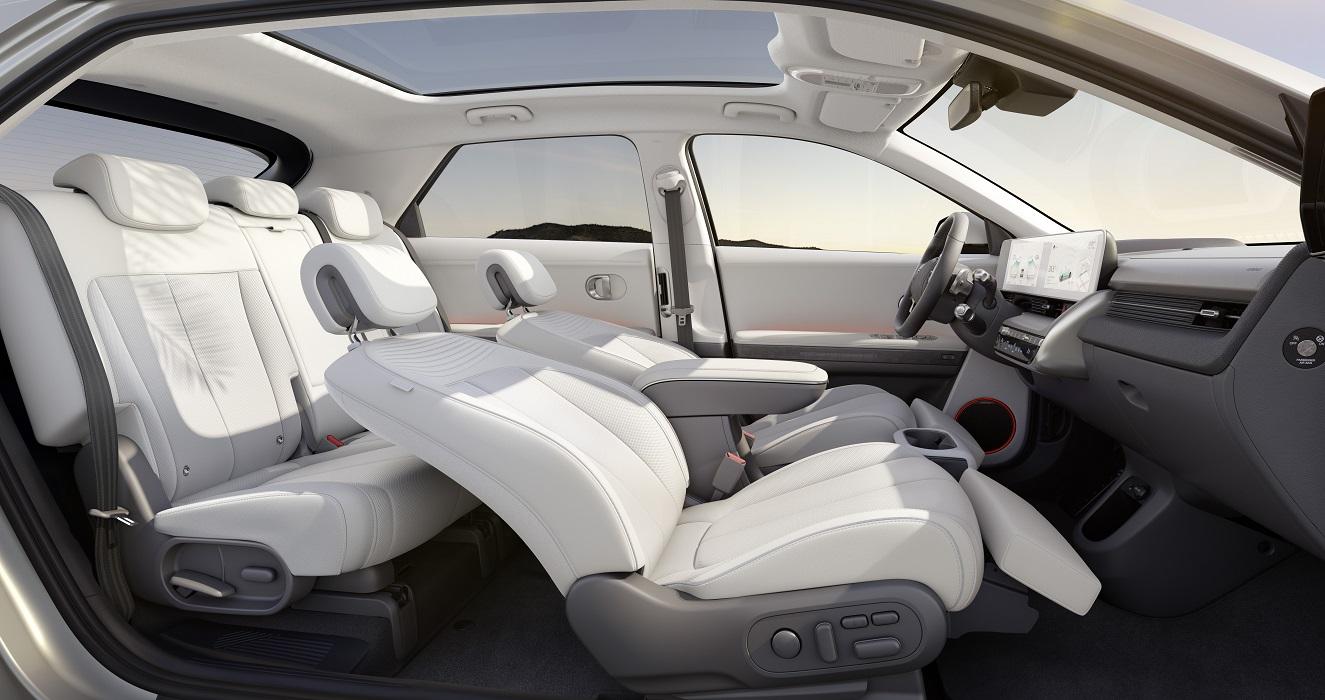 Sedili reclinati Hyundai Ioniq 5 2021