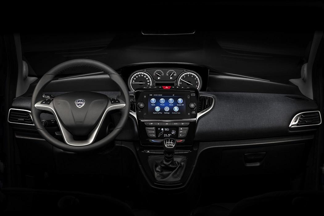 Interni Lancia Ypsilon 2021