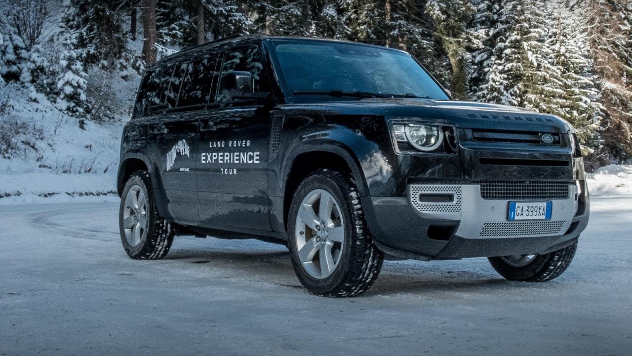 Jaguar Land Rover: test drive ed altre iniziative a Courmayeur thumbnail