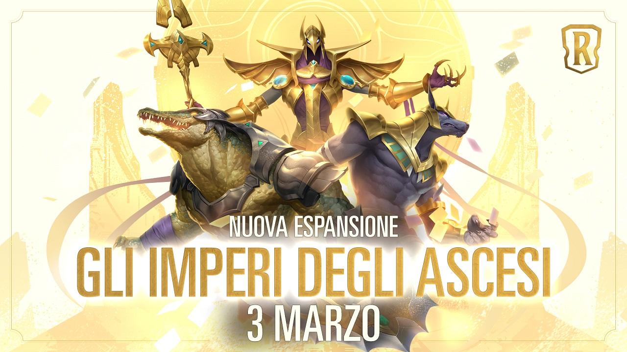 Riot Games annuncia Gli imperi degli Ascesi, il nuovo DLC di Legends of Runeterra thumbnail