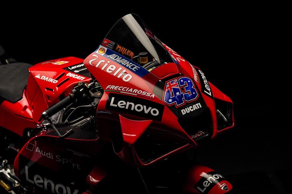 Dettaglio cupolino Ducati Jack Miller