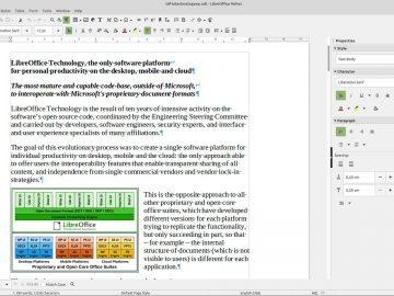 LibreOffice 7.1 Community è disponibile per il download