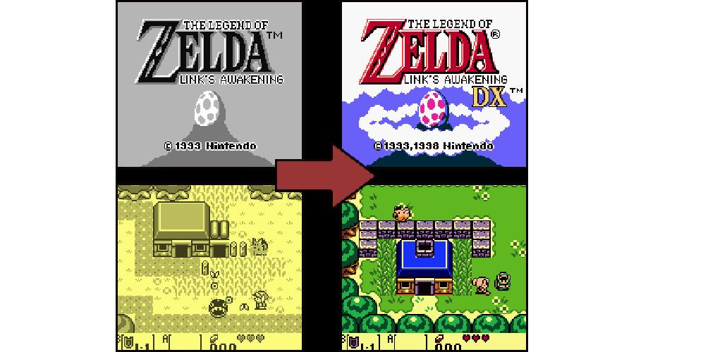 Link's Awakening game boy the legend of zelda 1993