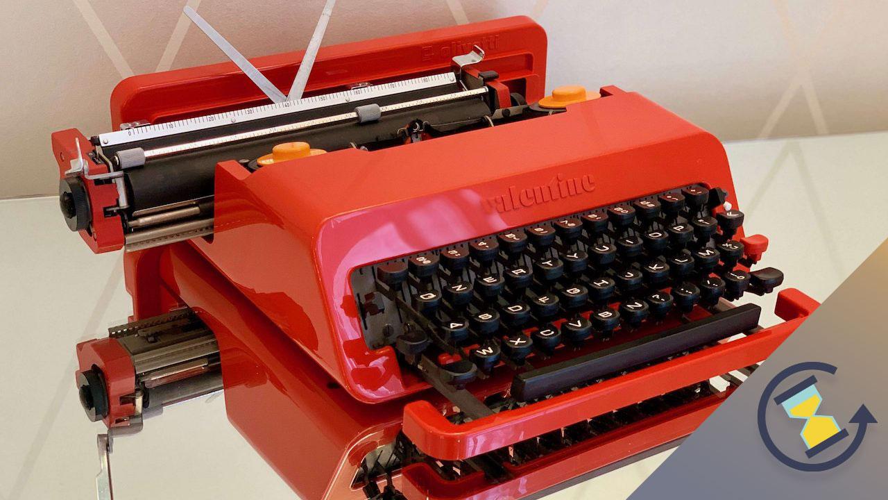 Come è cambiato: la macchina da scrivere thumbnail