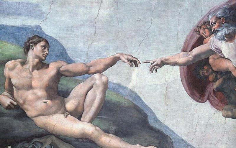 Michelangelo la creazione