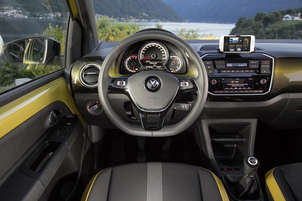 VW Up! interni