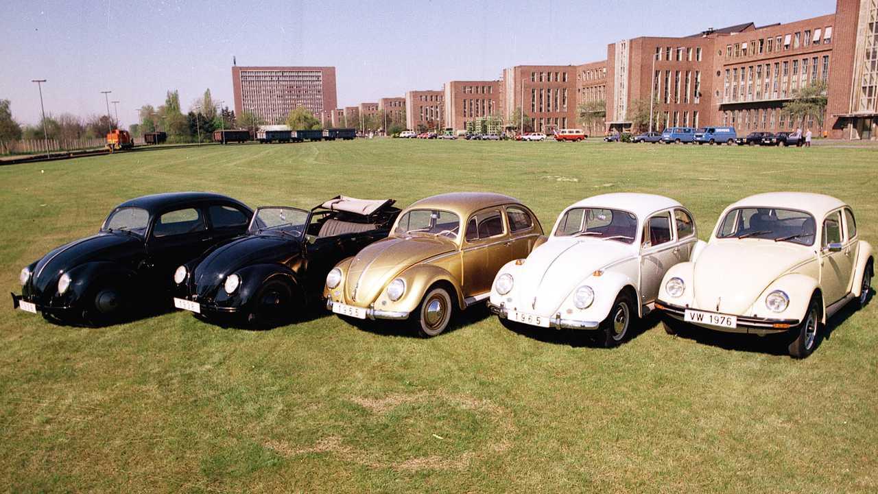 Volkswagen Maggiolino dal 1938 al 1976