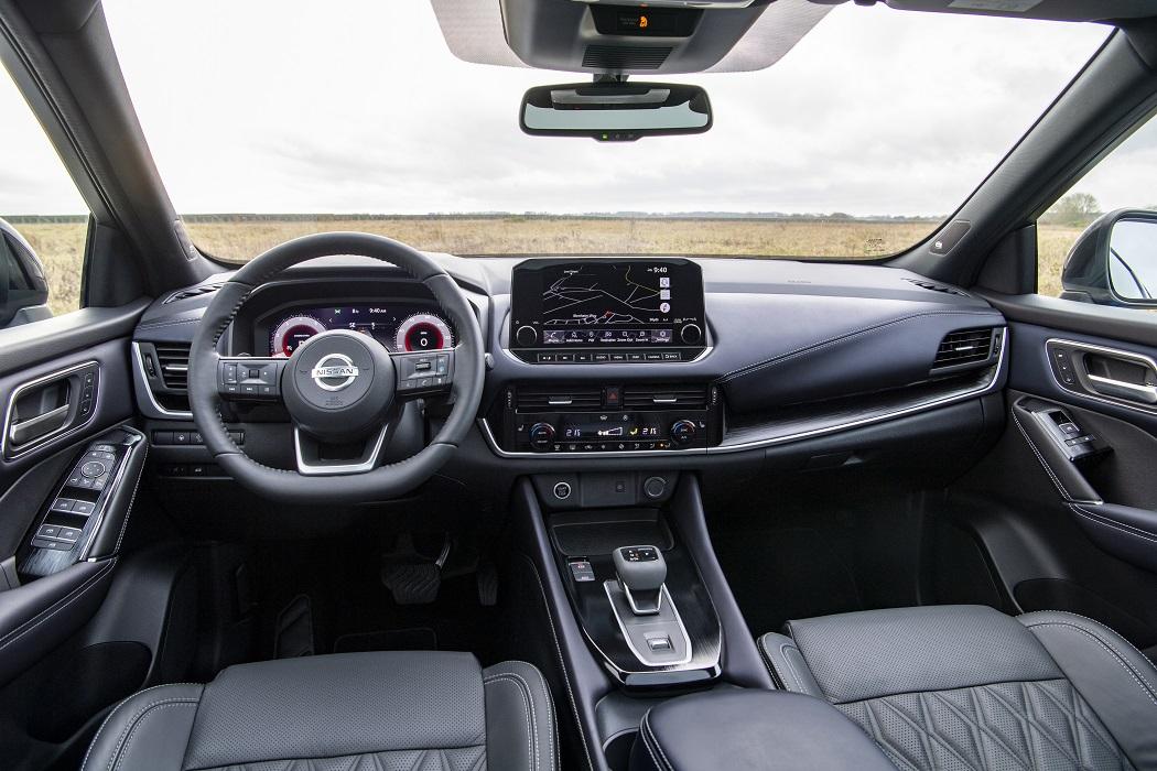 Interni Nissan Qashqai 2021