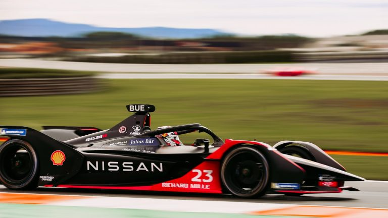 Nissan forumula e