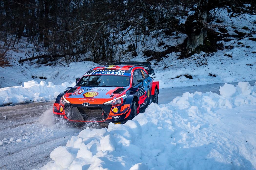 Rally MonteCarlo 2021, Hyundai i20