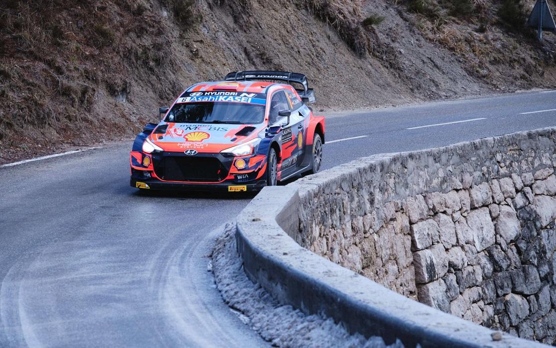 Ott Tanak, Rally Montecarlo 2021