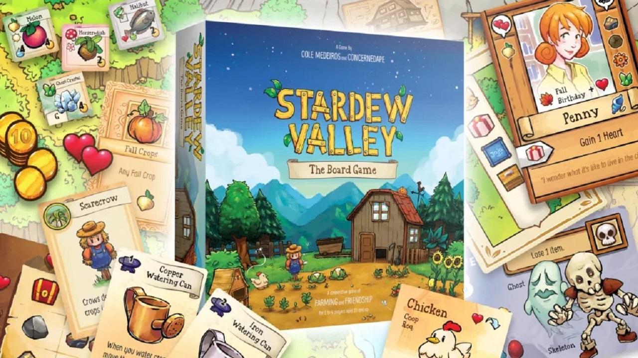 Il gioco da tavolo di 'Stardew Valley' è ora disponibile thumbnail