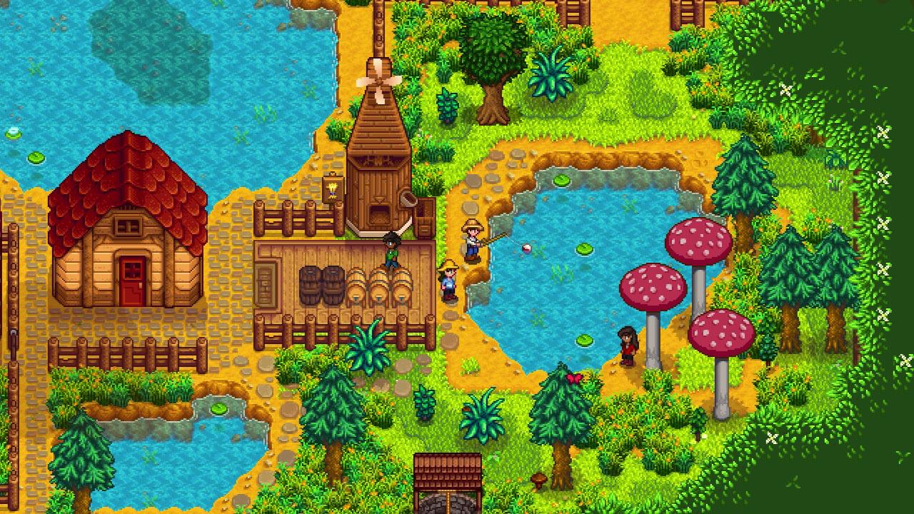 L'aggiornamento per la co-op di Stardew Valley è disponibile su console thumbnail