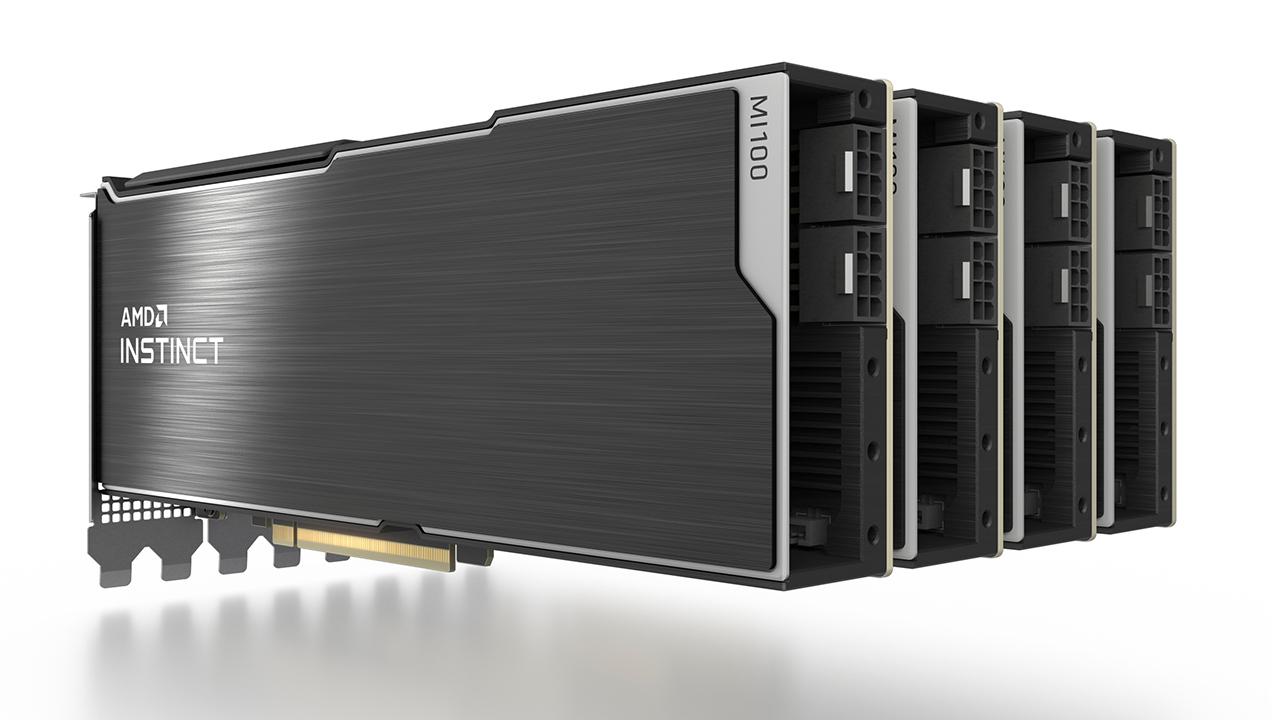 Supercomputer ORNL Frontier con GPU e CPU AMD