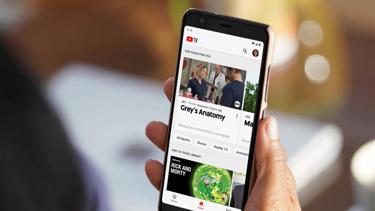 YouTube TV annuncia l'arrivo dello streaming in 4K thumbnail