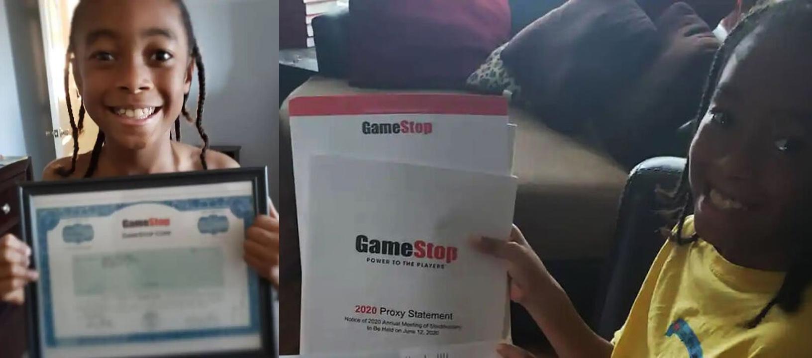 aumento azioni gamestop - la piccola fortuna di jaydyn carr