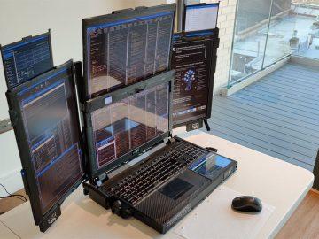 aurora 7 notebook sette display