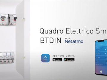 bticino btdin with netatmo quadro elettrico smart e connesso