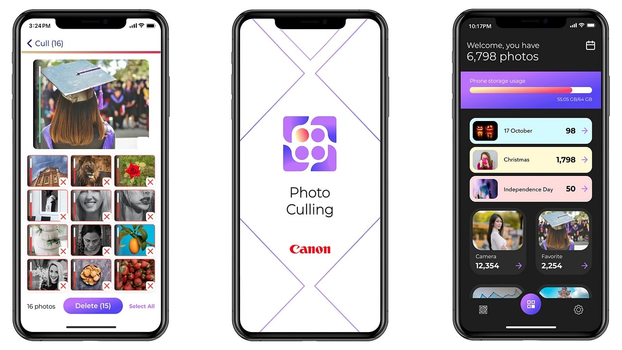 Canon Photo Culling: l'app per iPhone che valuta le vostre foto thumbnail