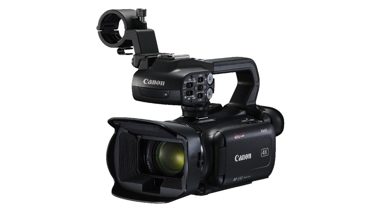 La videocamera 4K compatta Canon XA45 arriva in Italia thumbnail