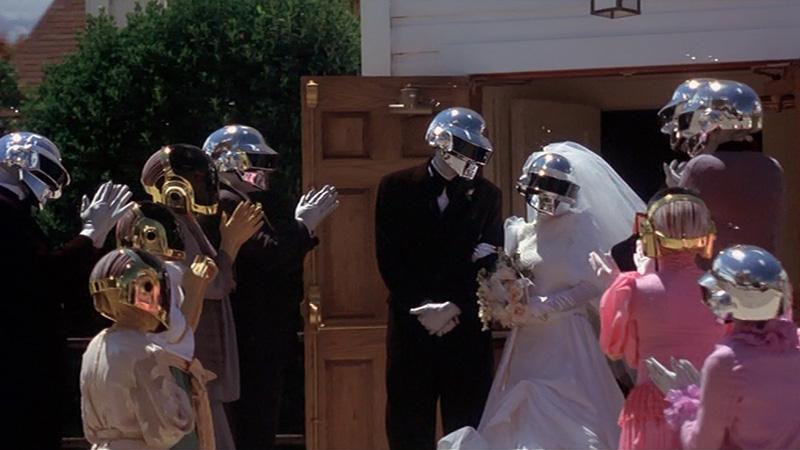 electroma dei daft punk scena del matrimonio dei robot
