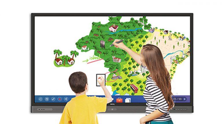 display interattivi benq education qualità dell'aria