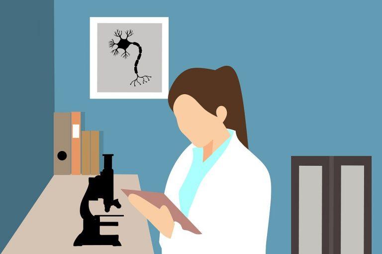 donne e ragazze nella scienza