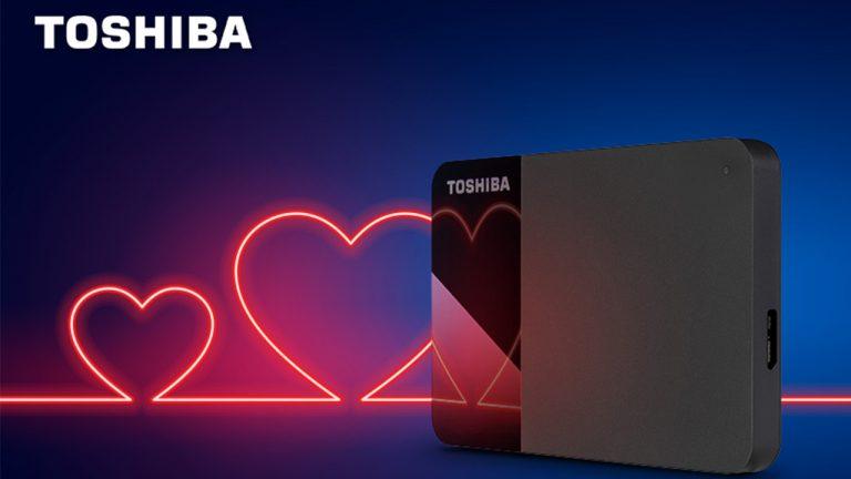 Hard disk Toshiba: il regalo perfetto per San Valentino
