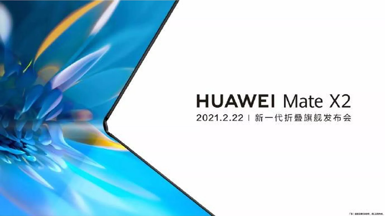 huawei mate x2 nuovo smartphone pieghevole