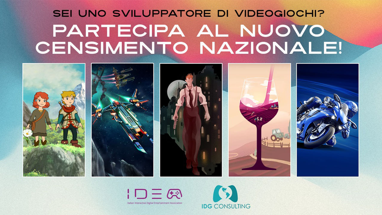 iidea censimento game developer italiani