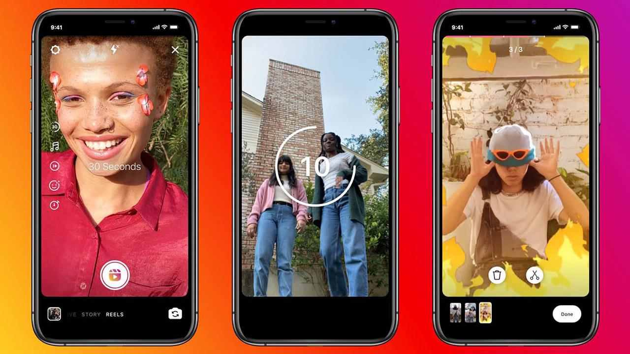 Le Instagram Stories avranno lo scorrimento verticale come TikTok thumbnail