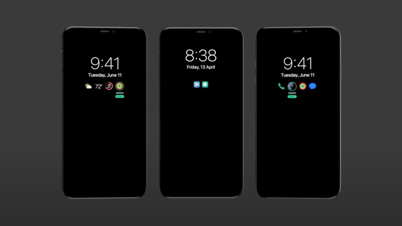 iphone 13 2021 leak always-on display