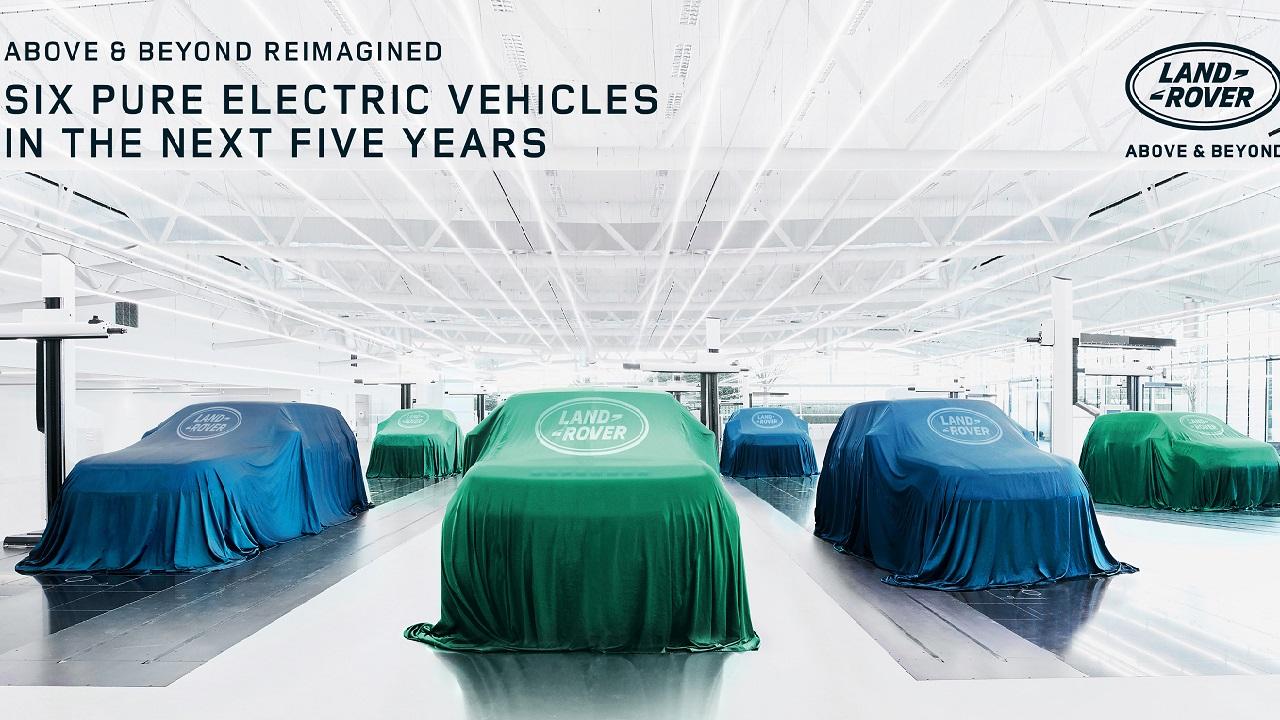 Jaguar Land Rover: parte la rivoluzione elettrica thumbnail