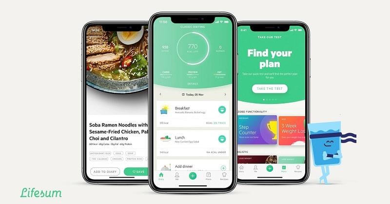 lifesum app per la dieta dimagrire