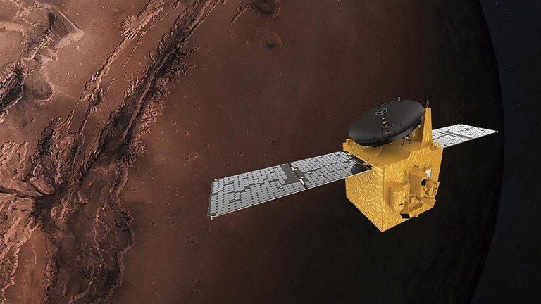 Una missione per lo studio di Marte sfrutta il cloud per la condivisione dei dati